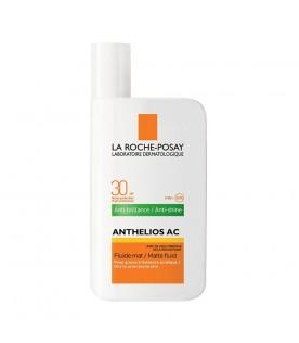 Anthelios AC Fluido Mat Anti-Lucidità SPF 30 Protezione Solare Alta 50 ml