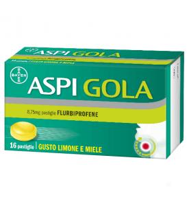 ASPI GOLA 16 Pastiglie Limone Miele