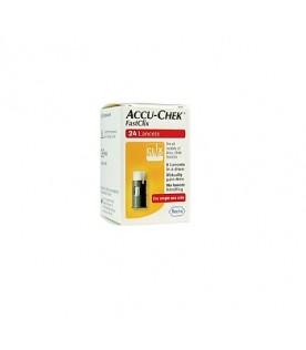 Accu-chek Fastclix 24 lancette pungidito