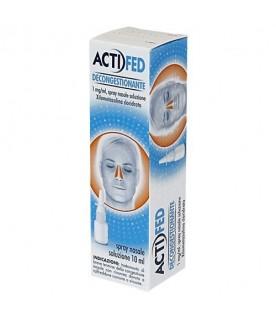 Actifed Spray Nasale Decongestionante 10ml