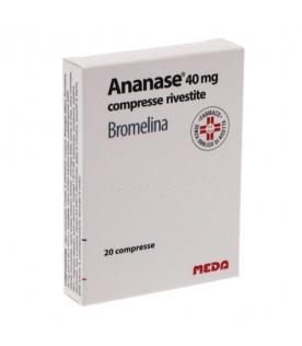 Ananase 20 Compresse 40 mg
