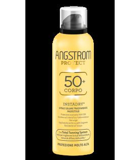 Angstrom Instadry Spray Trasparente Corpo SPF 50+ Protezione Solare Molto Alta 150 ml
