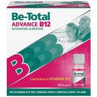 Be-Total Advance B12 - Integratore alimentare per stanchezza fisica e mentale - 30 flaconcini