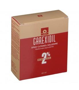 Carexidil 2% Spray Cutaneo Soluzione 3 Flaconi 60 ml