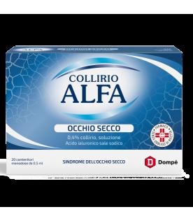 Collirio Alfa Occhio Secco 20 Flaconcini Monodose ml