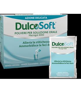 DulcoSoft - Polvere per soluzione orale - Trattamento della stitichezza occasionale - 20 bustine