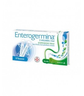 Enterogermina 2 Miliardi - Equilibrio della flora batterica intestinale - 10 flaconcini