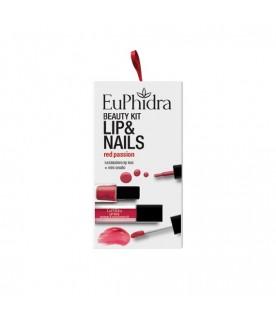 Euphidra Cofanetto Beauty Kit Red Passion Gloss+Smalto
