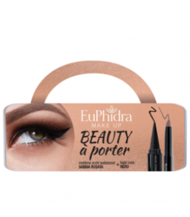 Euphidra Cofanetto Beauty A Porter Occhi Matitone Waterproof + Kajal