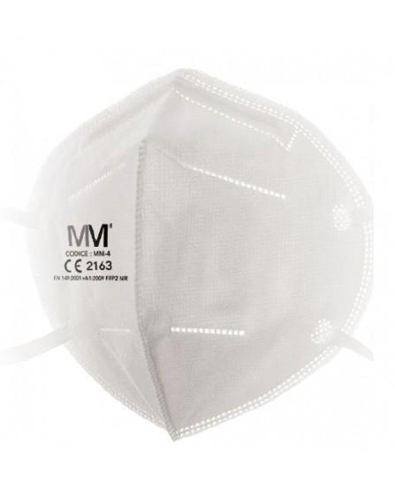 Mascherina Protettiva FFP2 Certificata - 1 pezzo - Dispositivo di Protezione Individuale DPI