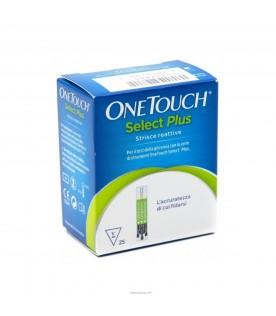 Onetouch Select Plus 25 Strisce per la misurazione della Glicemia