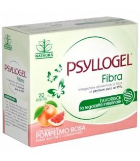 Psyllogel Fibra - Integratore per la regolarità intestinale - Gusto Pompelmo Rosa - 20 bustine