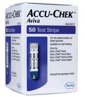Accu-chek Aviva 50 Strisce per Glicemia