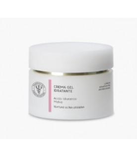 Crema-gel Idratante Acido Ialuronico e Malva Texture Oil-Free Ultra Leggera Laboratorio Farmacisti Preparatori 50ml
