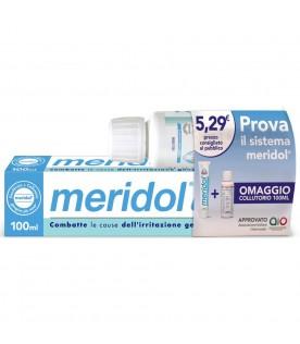 Meridol Special Pack Dentifricio 100 ml + Collutorio 100 ml