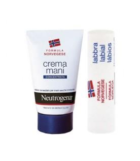 Neutrogena Crema Mani Profumata + Stick Labbra Secche Omaggio
