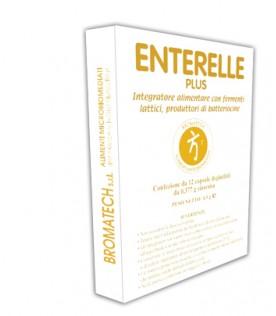 Enterelle Plus - Integratore alimentare a base di fermenti lattici - 12 capsule