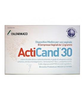 ACTICAND 30 8 Compresse Vaginali