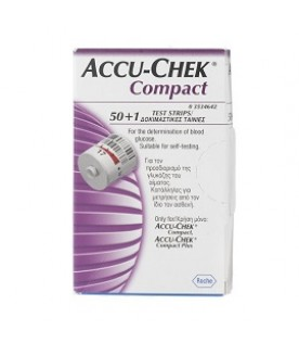 ACCUCHEK Compact 3x17 Strisce per Glicemia