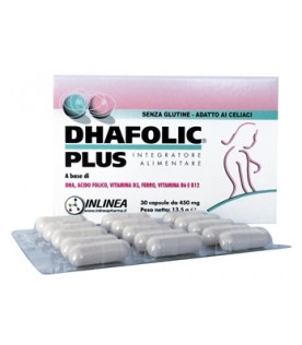 DHAFOLIC Plus Integr.30 Cps