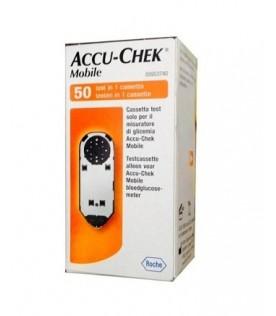 Accu-chek Mobile 50 Strisce per Glicemia