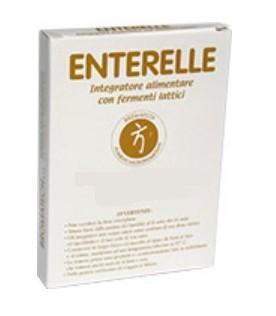 Enterelle - Integratore alimentare a base di fermenti lattici - 24 capsule