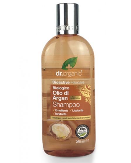 Dr Organic Olio di Argan Shampoo 265 ml