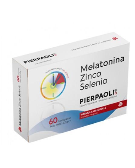 MELATONINA Zinco Selenio 60 Compresse Pierpaoli