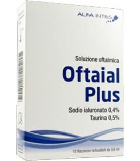 OFTAIAL Plus Soluzione Oftalmica 15 Flaconcini Collirio Monodose