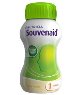 SOUVENAID Vaniglia 4x125ml