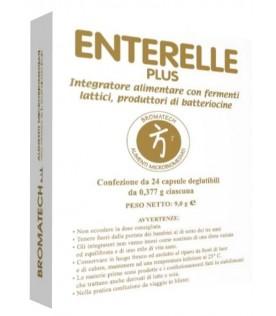 Enterelle Plus - Integratore alimentare a base di fermenti lattici - 24 capsule