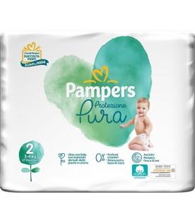 PAMPERS Naturello 2 (3-6Kg) 27pz