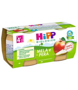OMO HIPP Bio Mela/Pera*2x80g