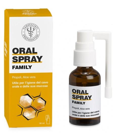 Oralspray Family Laboratorio Farmacisti Preparatori Spray Propoli 30ml