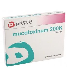 UN.MUCOTOXINUM 200K 10 Capsule