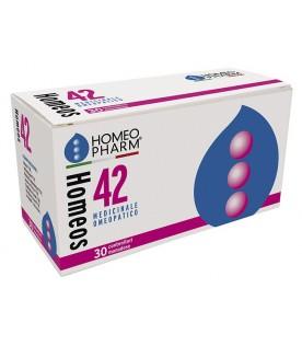 HOMEOS 42 Comp.Globuli 30tubi