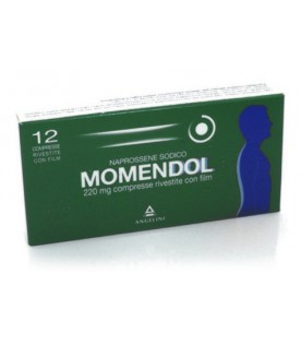 Momendol 12 Compresse Rivestite 220mg