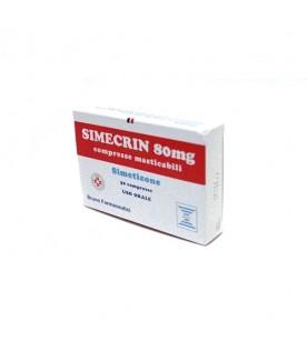 Simecrin*30Compresse Mast 80mg