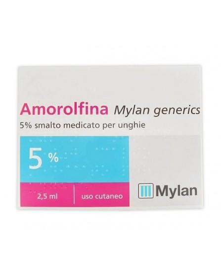 Amorolfina Smalto per Onicomicosi 5% 2,5 ml - equivalente a Onilaq e Locetar