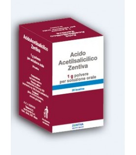 ACIDO Acetils.20 Bust.1g ZTV