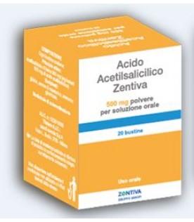 ACIDO Acetils.20 Bust.500mgZTV