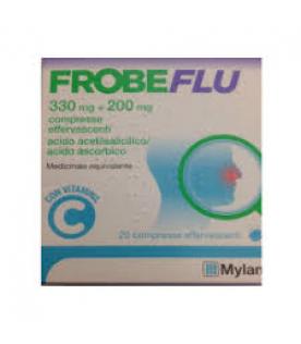 Frobeflu 20 compresse effervescenti Acido Acetilsalicilico e Acido Ascorbico 330mg+200mg