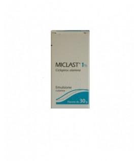 Miclast*emuls Derm Fl 30g 1%