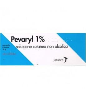 Pevaryl Soluzione Cutanea non Alcolica 6 Bustine 10g 1%