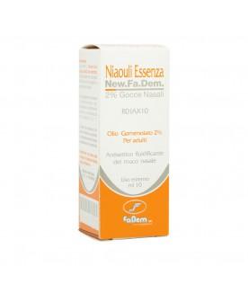 Niaouli Essenza*2% Gocce 10ml