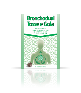 BRONCHODUAL Tosse Gola 20Past.