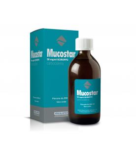 MUCOSTAR Sciroppo 5% 200ml