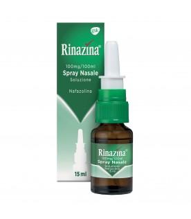 Rinazina Spray Nasale 15 ml 0,1%