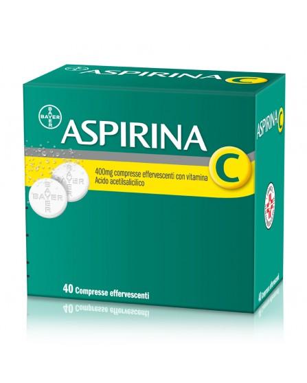 Aspirina C 40 compresse effervescenti 400+240mg