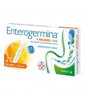 Enterogermina 4 Miliardi - Equilibrio della flora batterica intestinale - 10 flaconcini